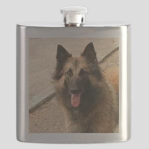 Belgian Shepherd Dog (Tervuren) Flask