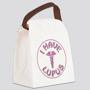 I HAVE LUPUS Canvas Lunch Bag