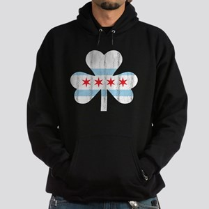 Chicago Flag Clover Hoodie