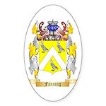 Fanning Sticker (Oval 10 pk)