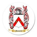 Fannery Round Car Magnet