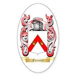Fannery Sticker (Oval)
