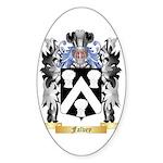Falvey Sticker (Oval 50 pk)