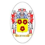 Faltin Sticker (Oval 50 pk)