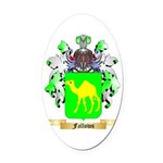 Fallows Oval Car Magnet