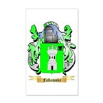 Falkowsky 35x21 Wall Decal