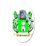 Falkowicz 35x21 Oval Wall Decal