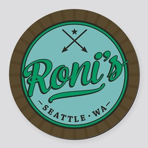 OUAT Roni's Round Car Magnet