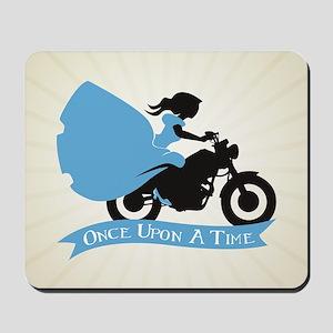 OUAT Ballgown Motorcycle Mousepad