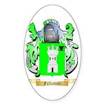Falkovski Sticker (Oval)