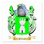 Falkov Square Car Magnet 3