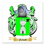 Falkoff Square Car Magnet 3
