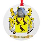 Falkner Round Ornament