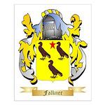 Falkner Small Poster