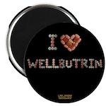I Heart Wellbutrin Button Magnets