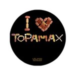 I Heart Topamax Button 3.5