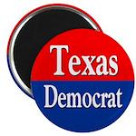 Texas Democrat Refrigerator Magnet