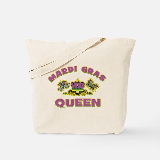Mardi Gras Queen Tote Bag