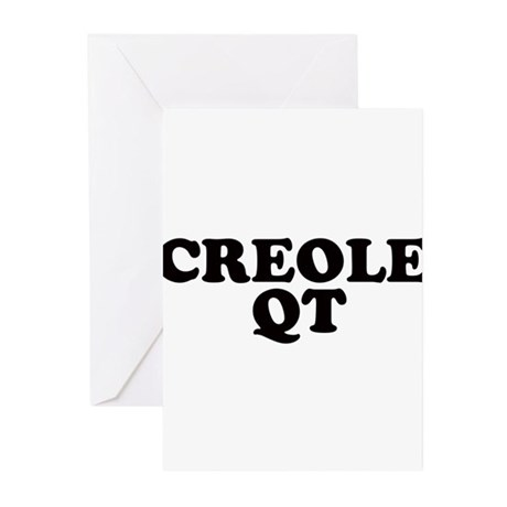 Creole-Qt Greeting Cards (Pk of 10)