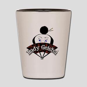 Lady Geisha-Mania Logo Shot Glass