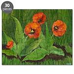 Orange Red Tulips Puzzle