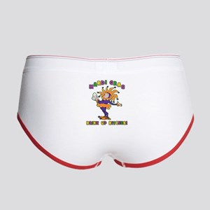 Mardi Gras Drink Up Bitches Women's Boy Brief