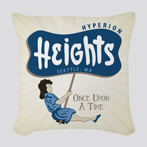 OUAT Hyperion Heights Retro Woven Throw Pillow