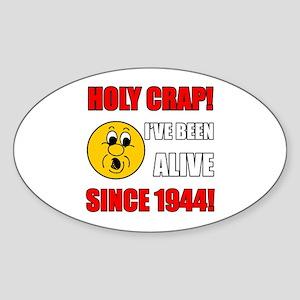 1944 Holy Crap Sticker (Oval)