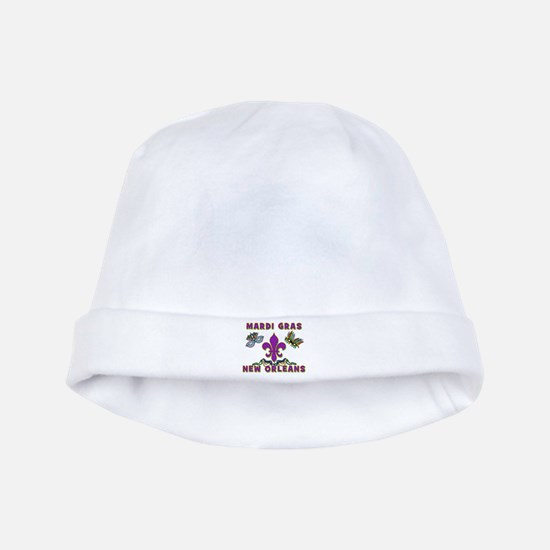 Mardi Gras New Orleans baby hat