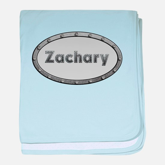 Zachary Metal Oval baby blanket