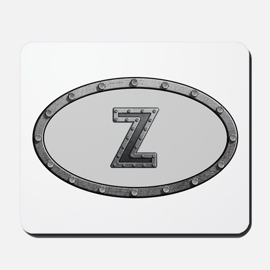 Z Metal Oval Mousepad