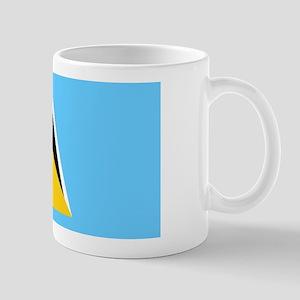 Saint Lucia Flag Mug