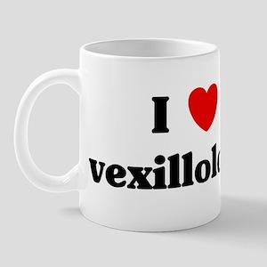 I Love vexillology Mug