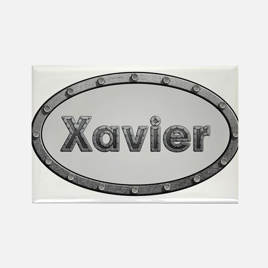 Xavier Metal Oval Magnets