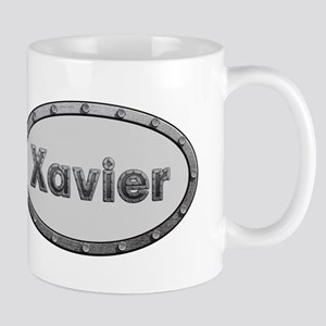 Xavier Metal Oval Mugs