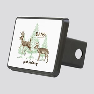 Bang! Just Kidding! Huntin Rectangular Hitch Cover