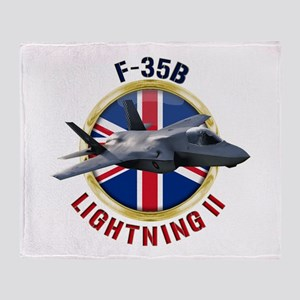 RAF F-35B Lightning II Throw Blanket