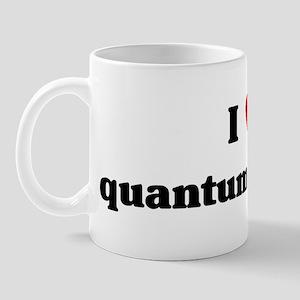 I Love quantum physics Mug