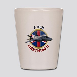 RAF F-35B Lightning II Shot Glass