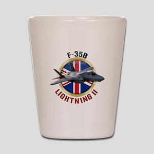RAF F-35B Lightning II Shot Glass