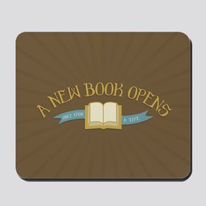 A New Book Opens OUAT Mousepad