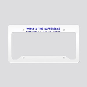 BILLARDS License Plate Holder