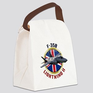 RAF F-35B Lightning II Canvas Lunch Bag