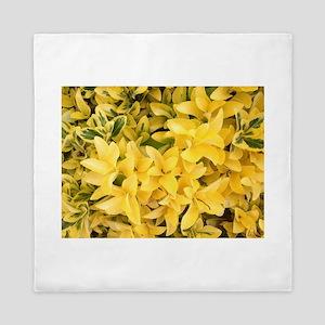 Yellows Delight Queen Duvet