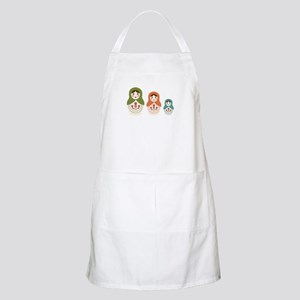 Matryoshka Russian Dolls Apron