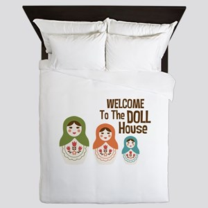 WELCOME TO THE DOLL HOUSE Queen Duvet