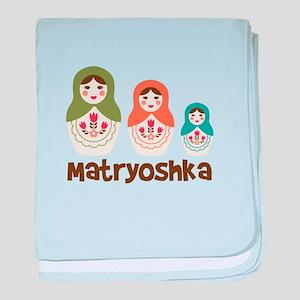 MATRYOSHKA baby blanket