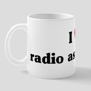 I Love radio astronomy Mug