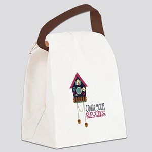 Count Your Blessincs Canvas Lunch Bag
