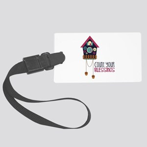 Count Your Blessincs Luggage Tag